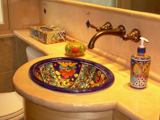 Mexican Style Bathroom Photos