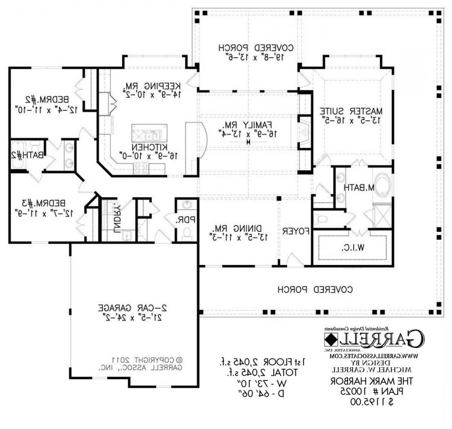 Open floor home plans photos for Open floor plan house plans with photos