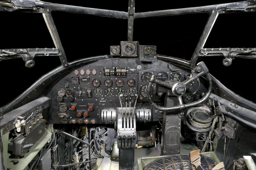 Lancaster Bomber Interior 2010 Photos