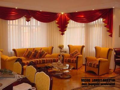 Living room curtains designs in different colors: