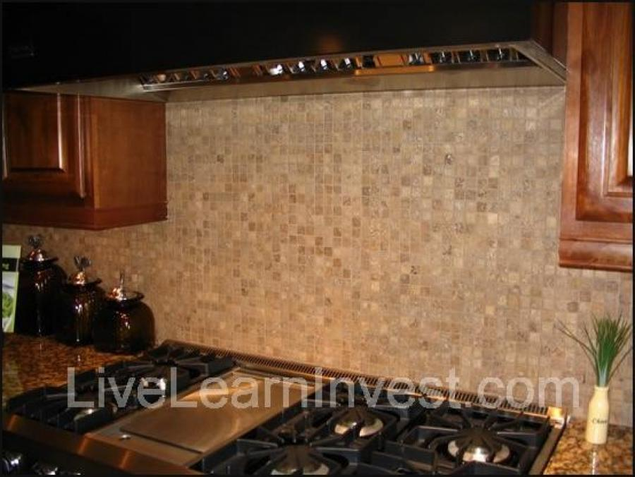 Kitchen backsplash wallpaper photo for Kitchen backsplash wallpaper