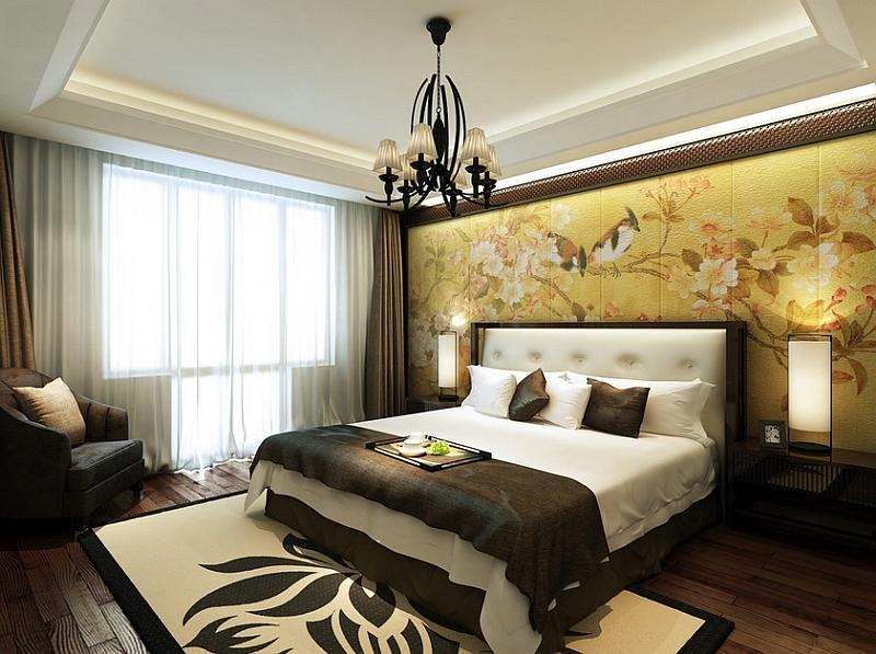 Schlafzimmer asiatisch