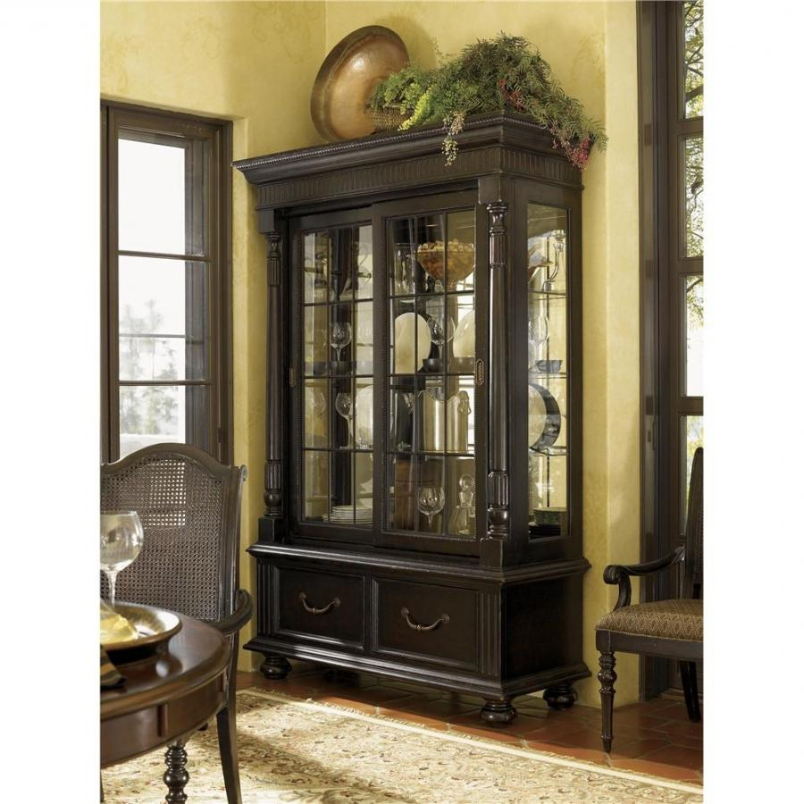 China cabinet display photos for Dining room display cabinets