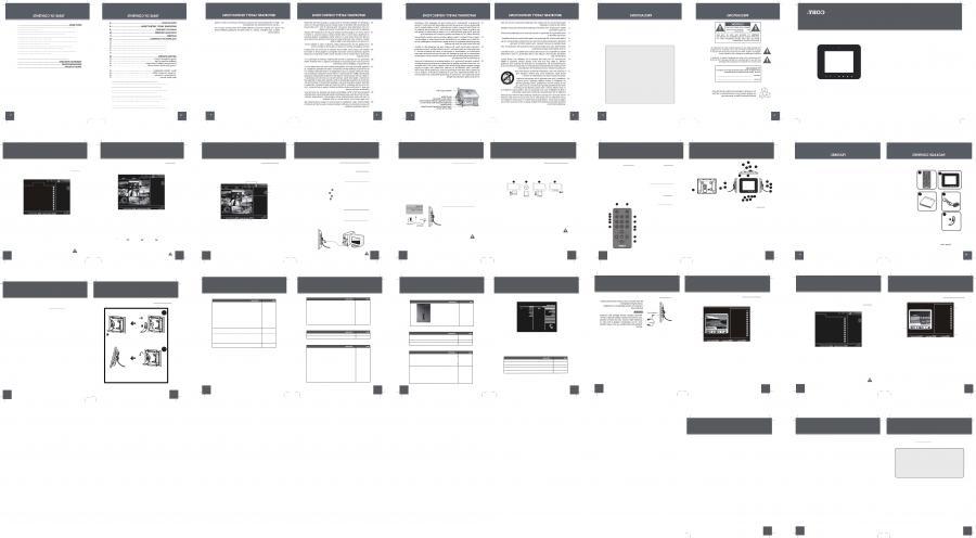 coby digital photo frame manual