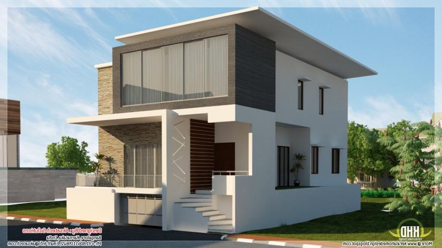 1200 sq ft tamilnadu style 2 bedroom home elevation design