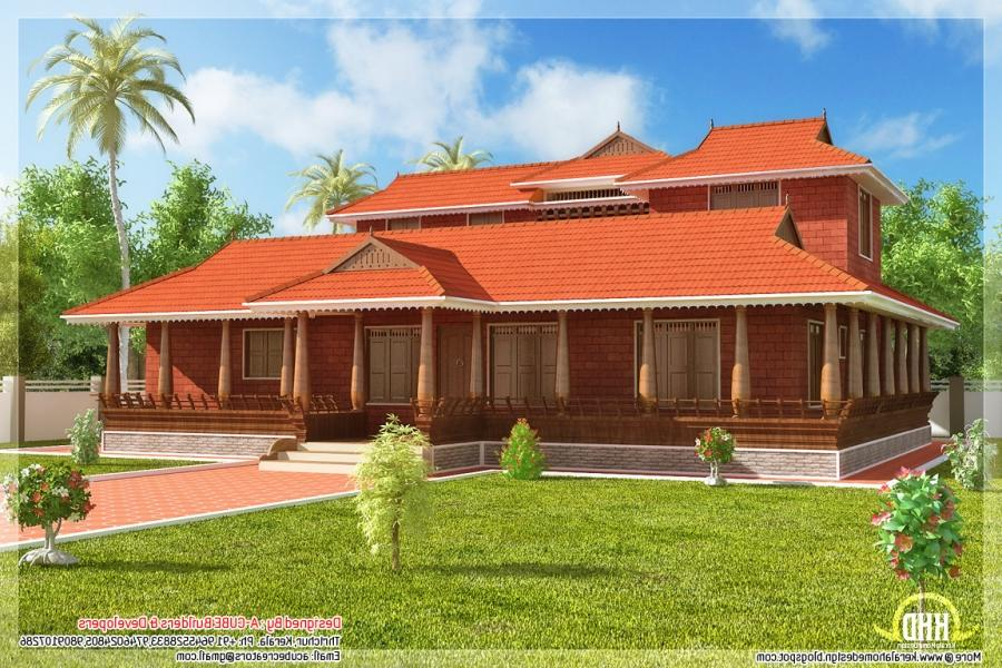 Kerala house photo gallery for New model veedu photos