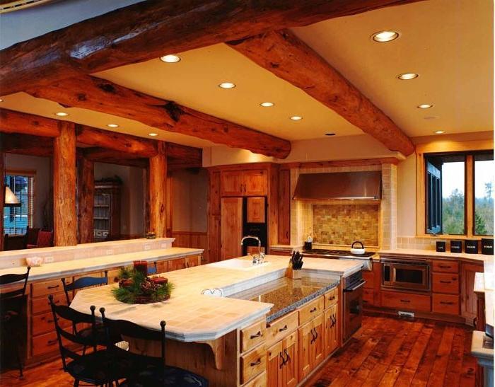 Custom Log Home Builder In Central Oregon No Kits Steve Source