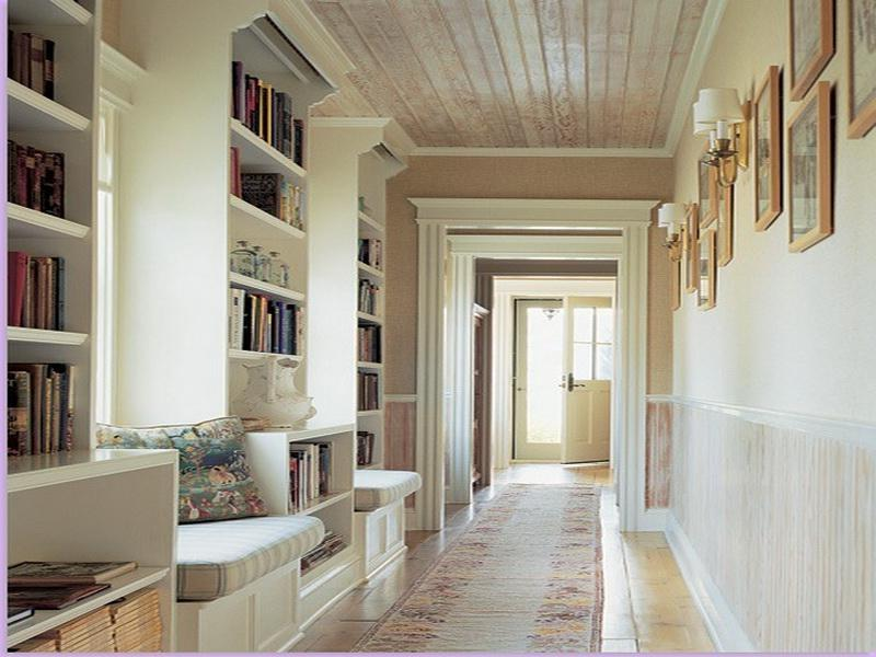Tags : decorate a room. ideas for decorating. long narrow hallway...