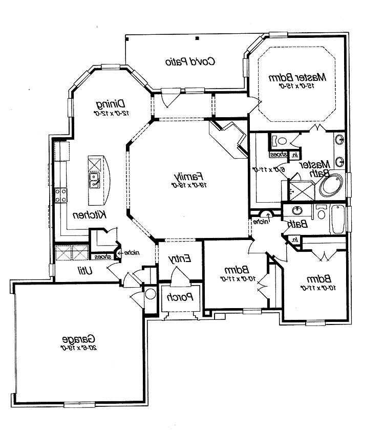 Open Floor Home Plans Photos