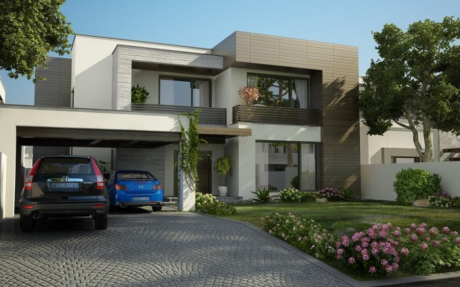 House Front Elevation Photos In Pakistan