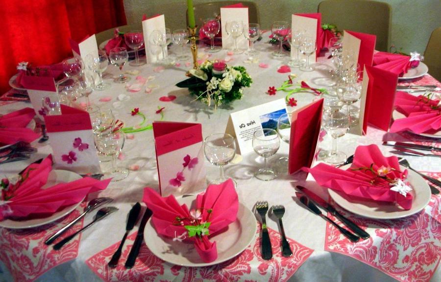 photo decoration salle fete pour mariage
