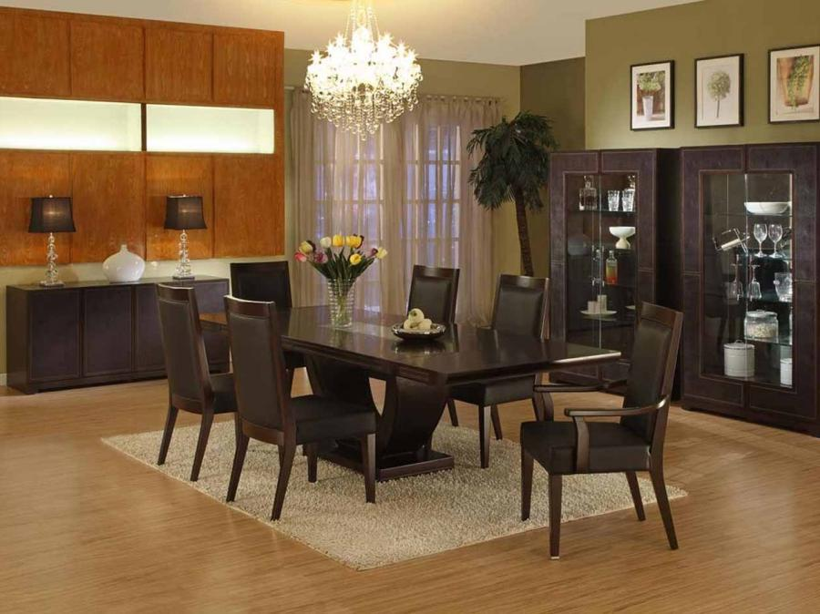 Formal dining room decorating photos for Formal dining rooms elegant decorating ideas