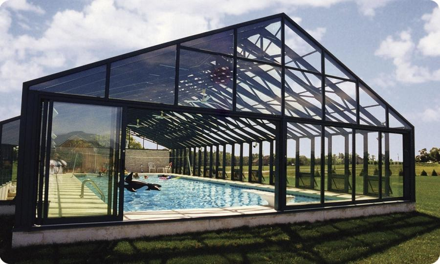 Veranda pour piscine Solar Innovations, Inc. ...