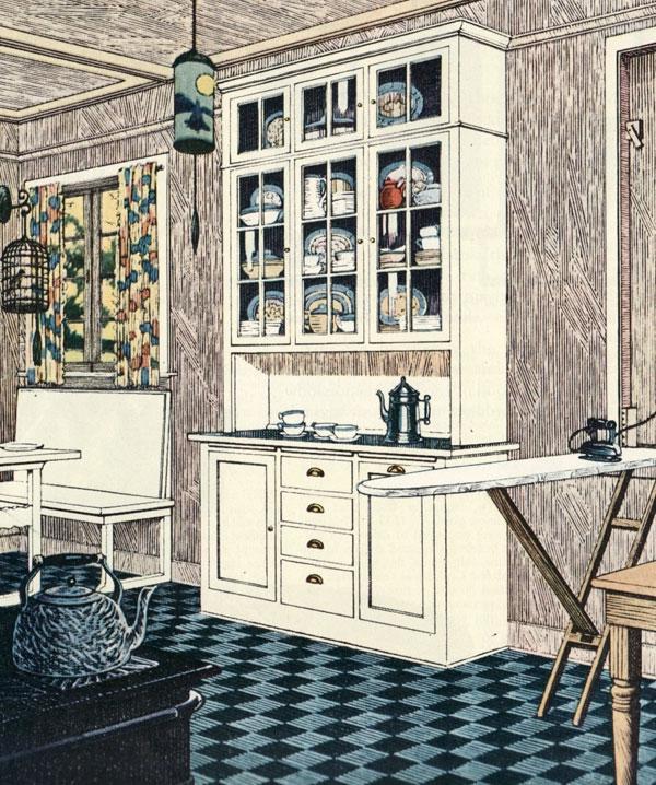 1920 s kitchen photos for 1920s kitchen floor
