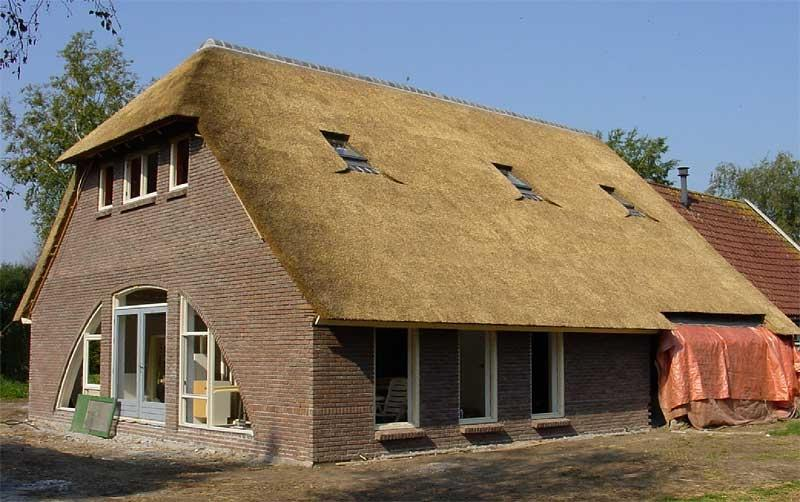 Thatched Roof House Photo Picture