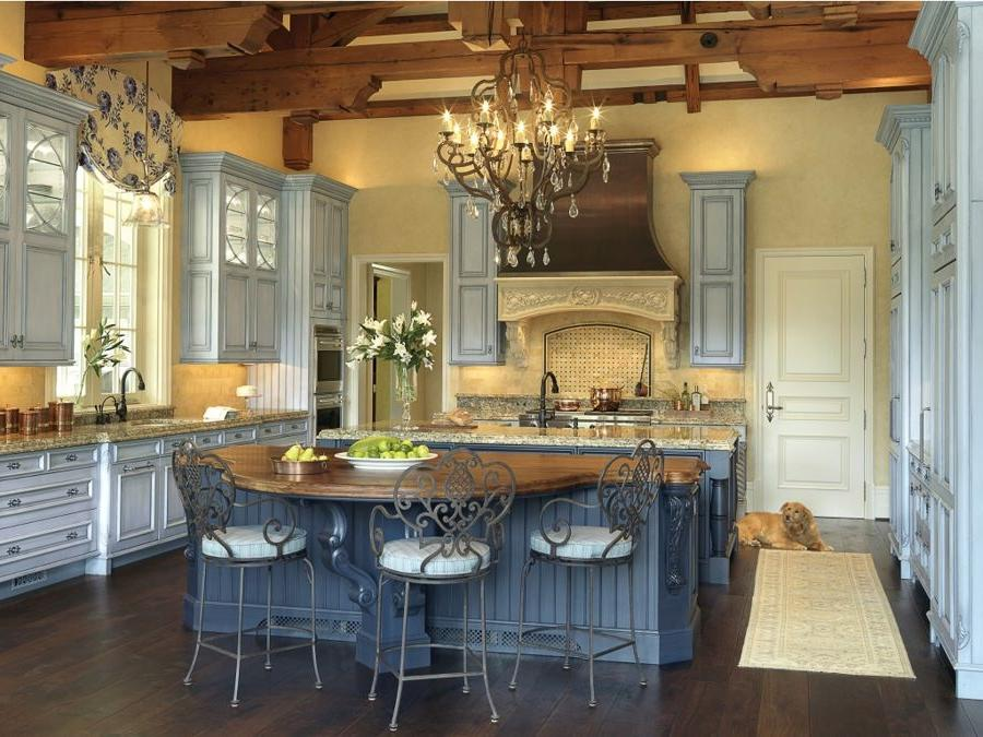 Modern french country kitchen photos for Modern french country design