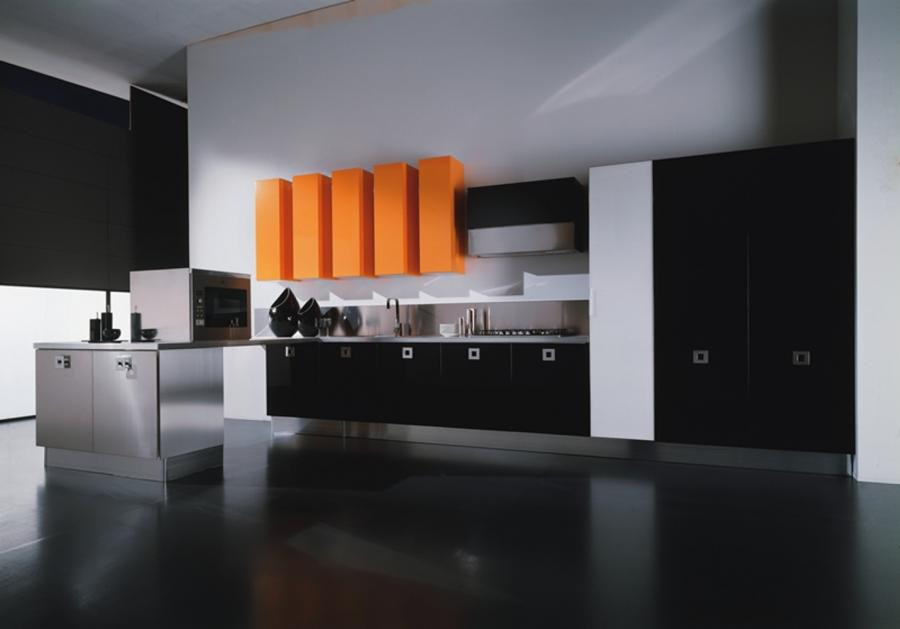 Black Kitchen Cabinets For Fancy Kitchen Design Picture Gallery [...