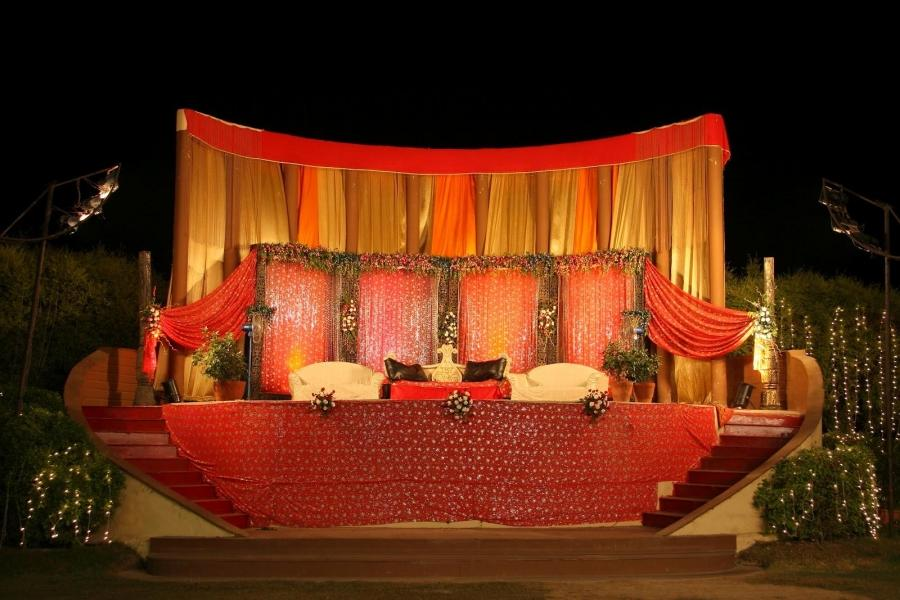 Amazing Wedding Stage Decoration Wallpapers