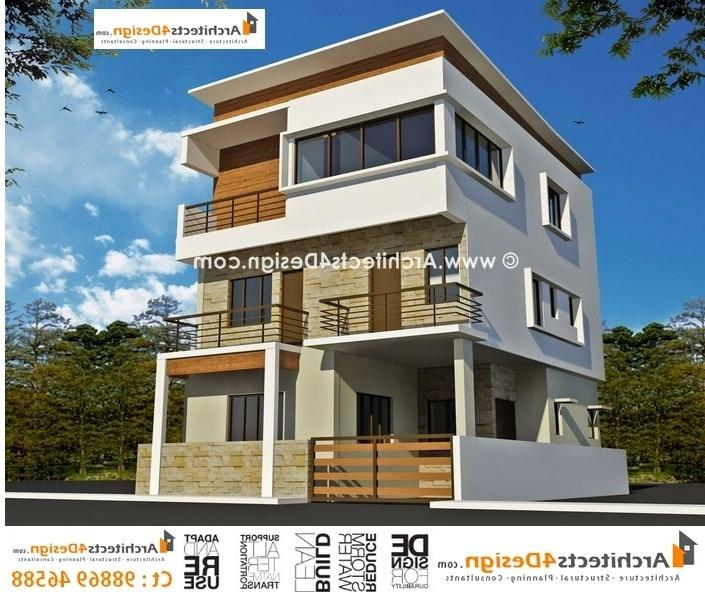 Sample Front Elevation Yourself : Front elevation of house in india photos samples
