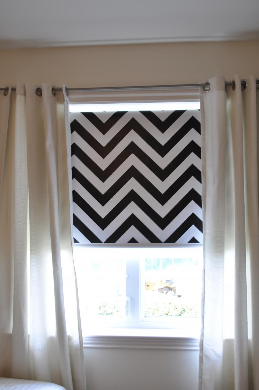 Black And White Photo Roller Blind
