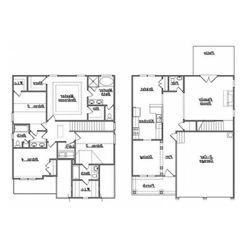Single Family House Plans Photos