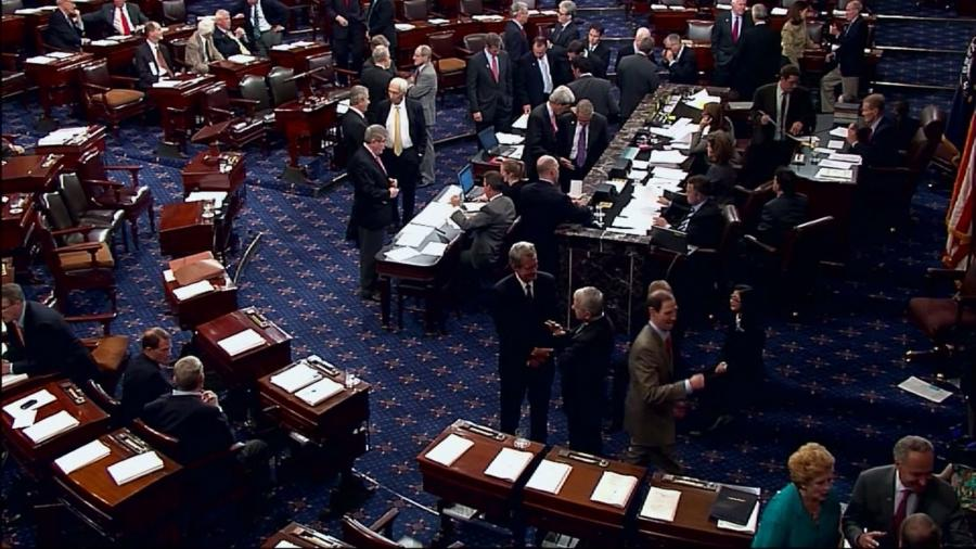 senate. The Senate floor