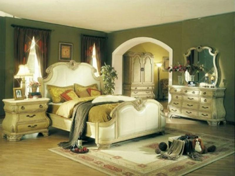 Lovely French Master Bedroom Design