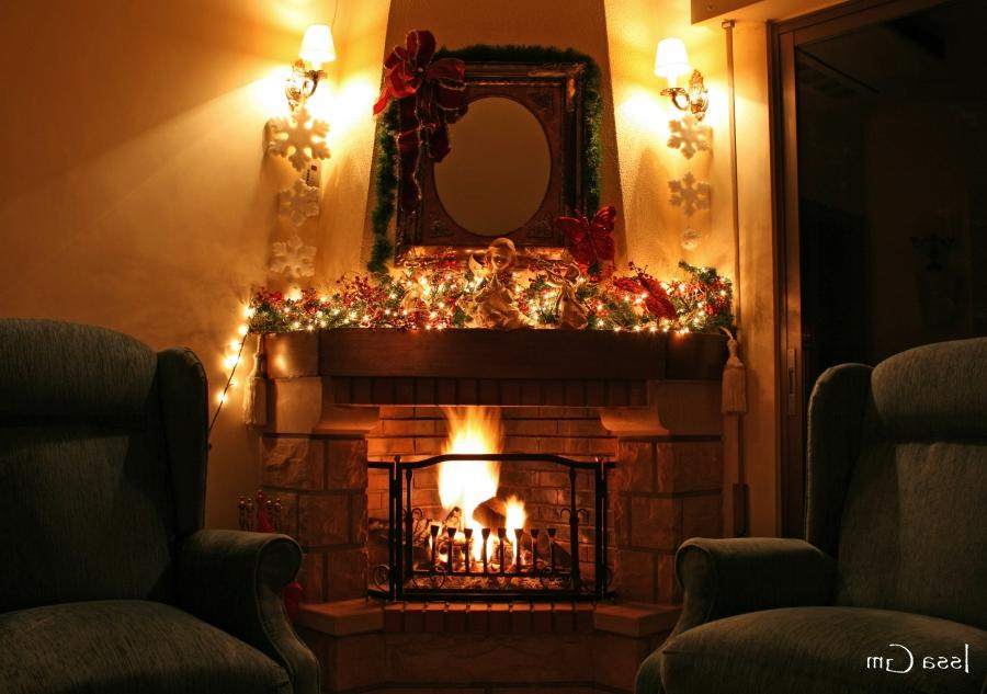 Fireplaces offer a cozy view and a warm, radiant heat to enjoy in...