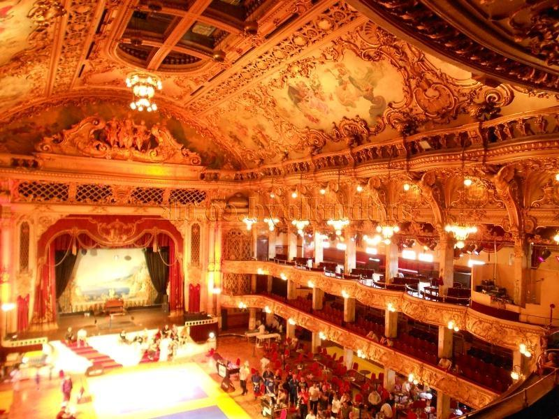 Frank Matchamu fabulously elaborate Tower Ballroom, Blackpool in...