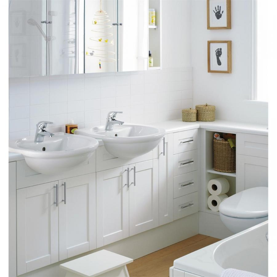 Impressive White Bathroom Furniture