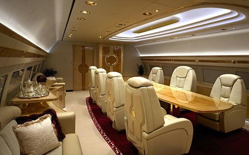 Interior Photos Of Private Jets