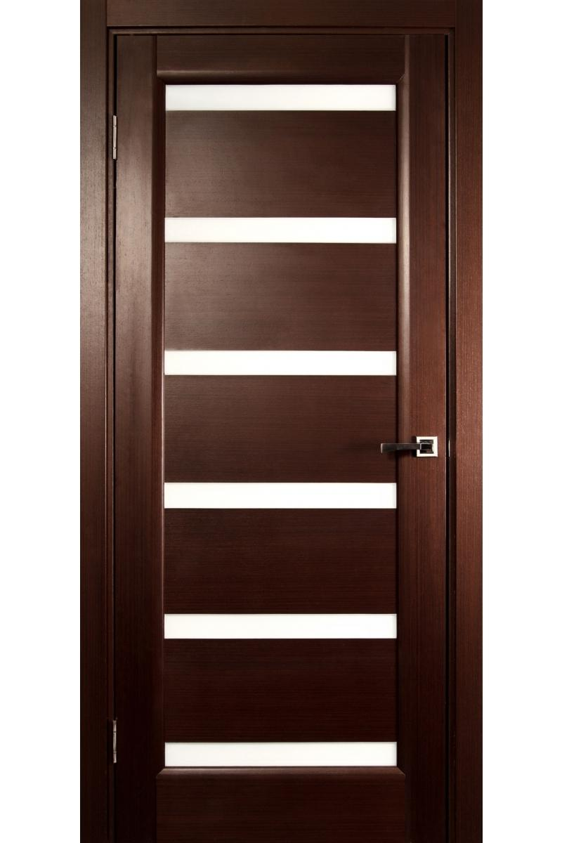 u0026quot;Tokyou0026quot; Wenge Interior Door with Glass...