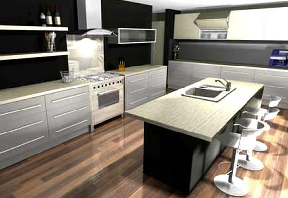 Photo realistic cabinet program - Kitchen design degree ...