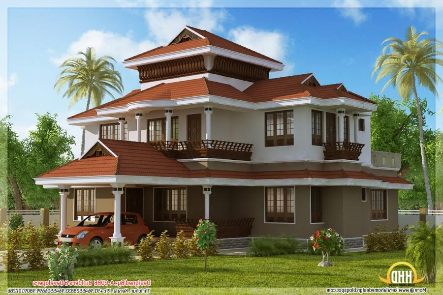 New house models photos kerala for New model house photos