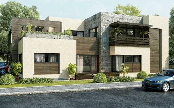 front elevation beautiful modern style house design home ... source