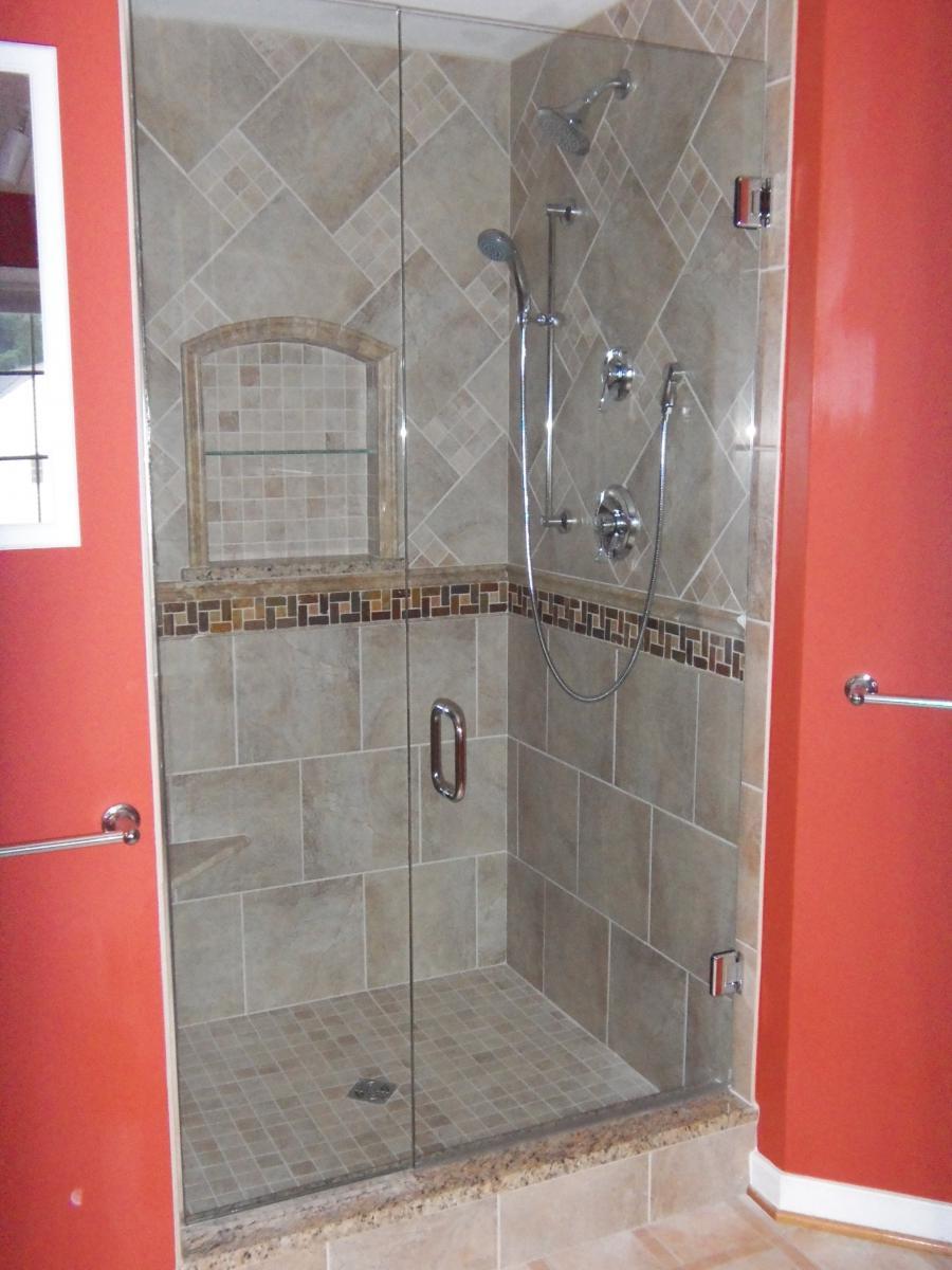 Ceramic Tile Shower Photo Gallery