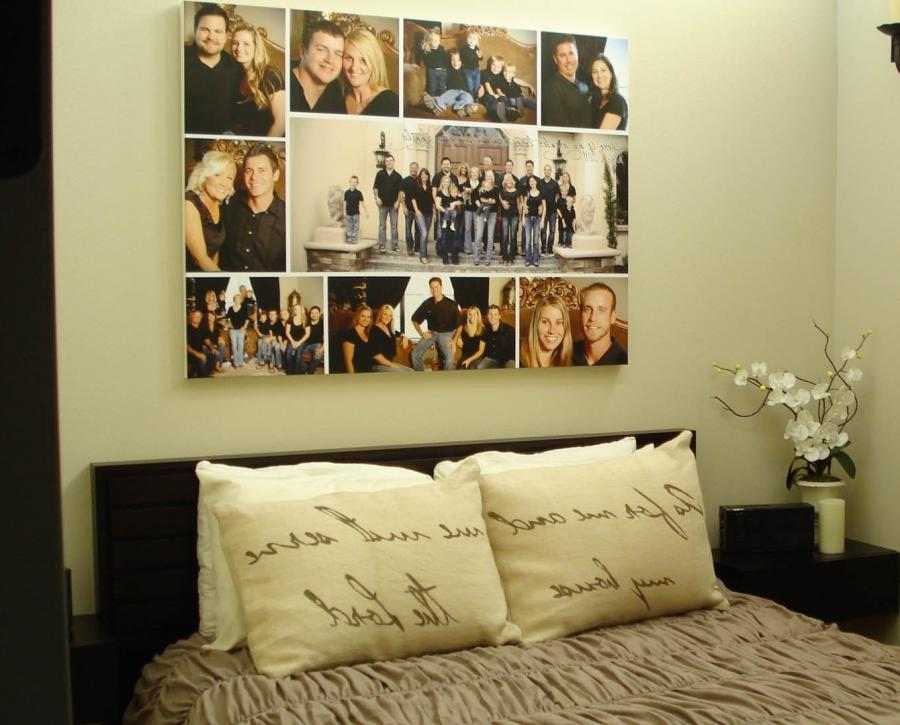 Cute Bedroom Photo Collage Ideas Collections | Photo And Picture Ideas