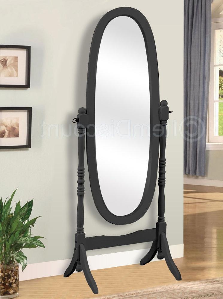 Floor standing photo frame wood