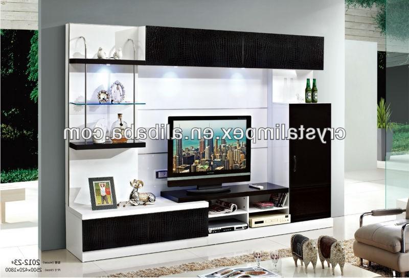 Led Tv Cupboard : Modern Design LED WALL UNIT 2012-23#, View led tv wall unit,
