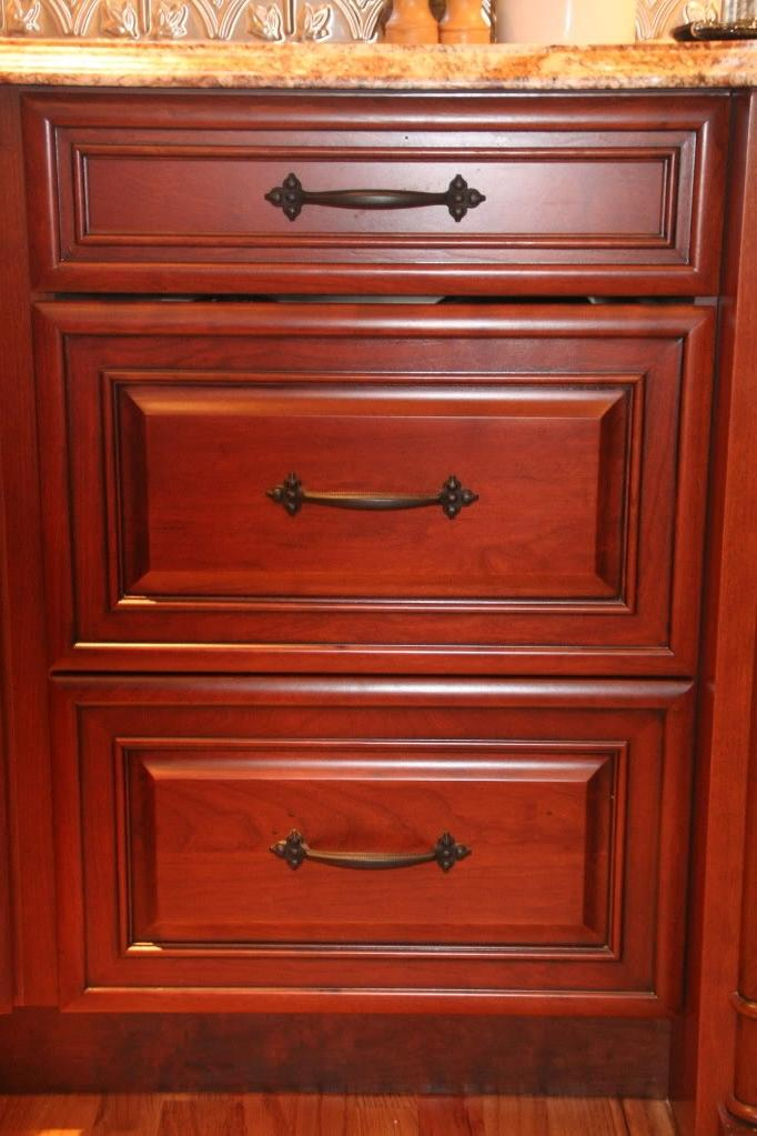 Cherry Cabinet Hardware Photos