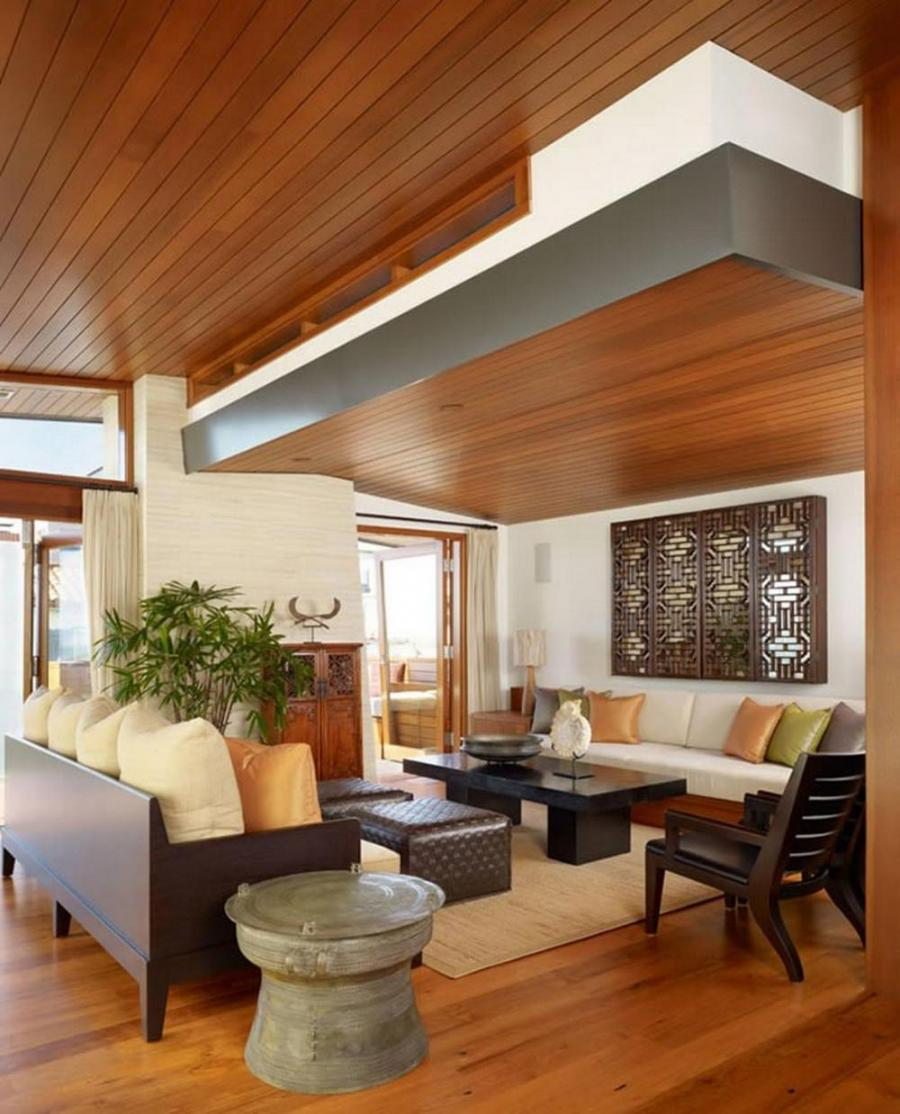 Home decoration, Wooden Ceiling Design Ideas: Modern ceiling...