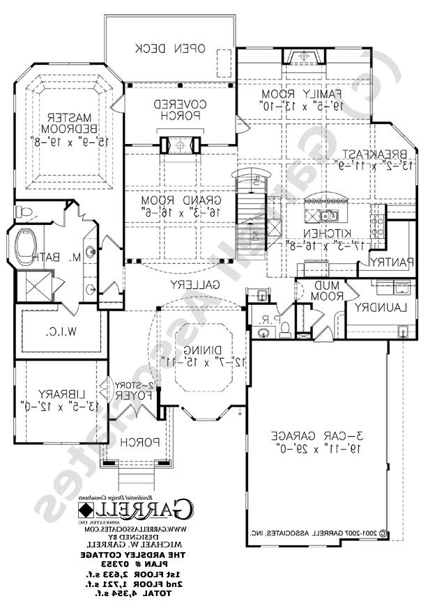 garrell associates house plan photos
