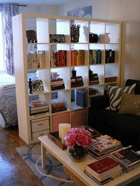 room divider and expedit all in one organizing pinterest source