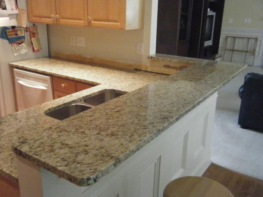 Like any other granite remodeling project, the kits come with...