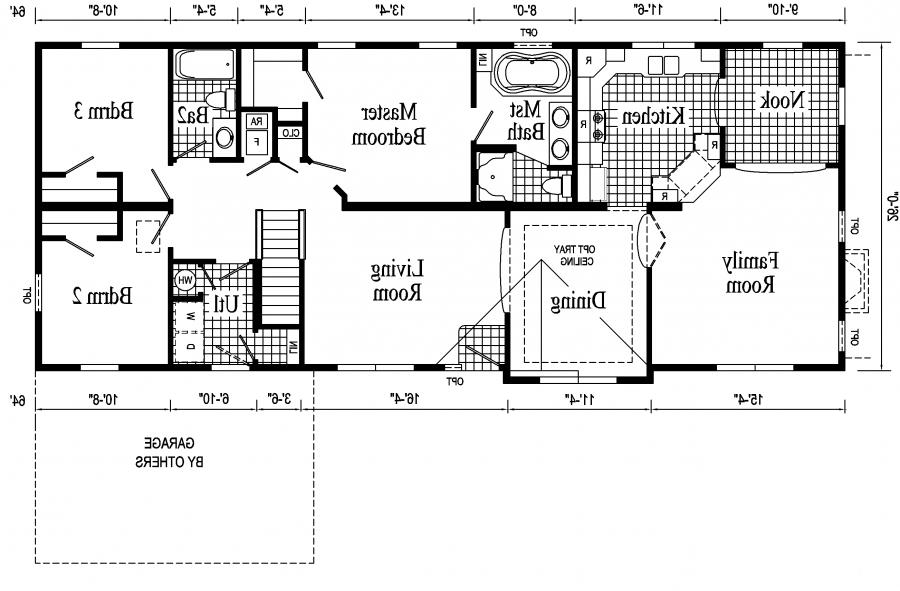 Home floor plans with photos for Monticello house plans