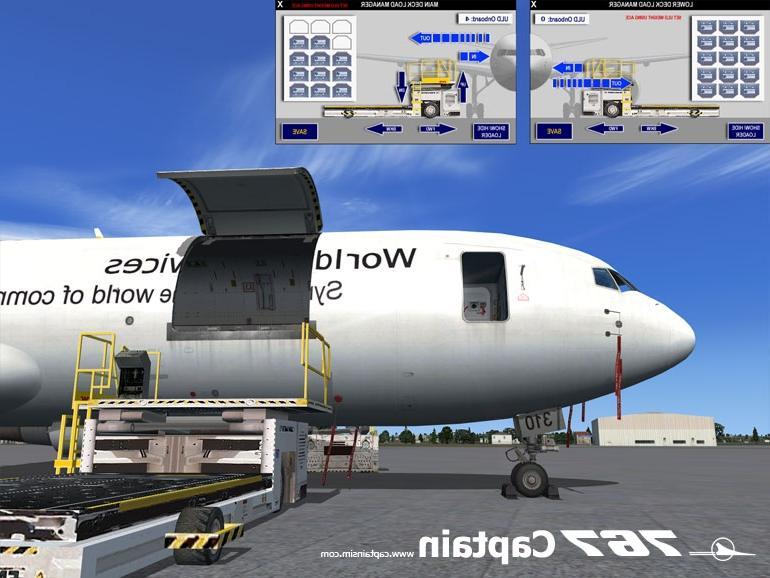 767 cargo door photo