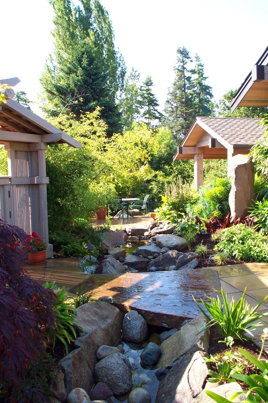 asian style garden design pictures photos