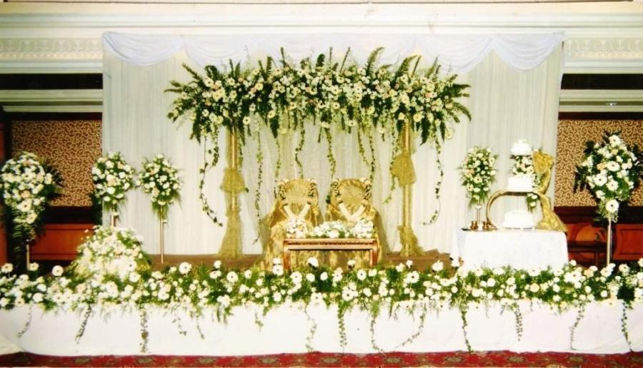 Christian Marriage Stage Decoration Photos