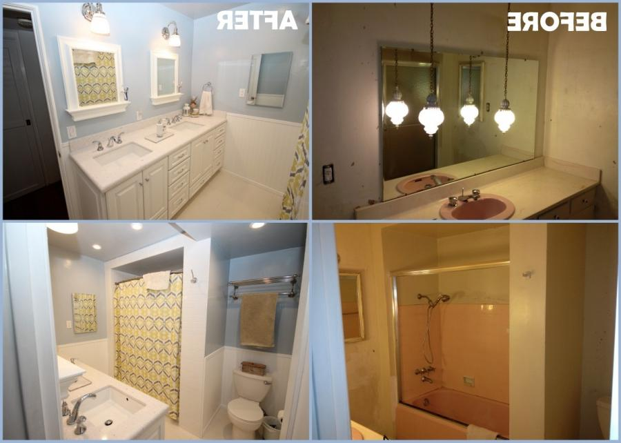Before and after photos of bathroom remodeling - Bathroom renovation san diego ...