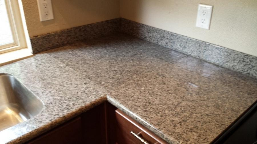 Granite Tile Countertop Photos
